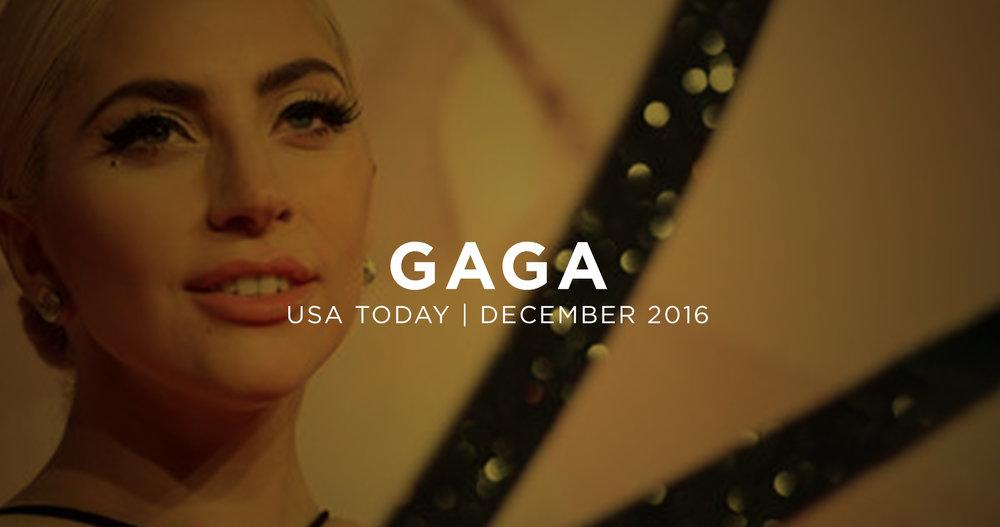 Lady Gaga PTSD.December 8, 2016