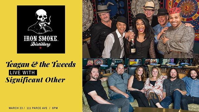 Get tix now-Link in Bio. . . . . @ironsmoke @brampagnechown @teaganwardmusic @katywright6583 @thomasaformicola #ironsmokewhiskey #ironsmokedistillery #roclive @thisisroc @rochester_live #rochesterlivemusic