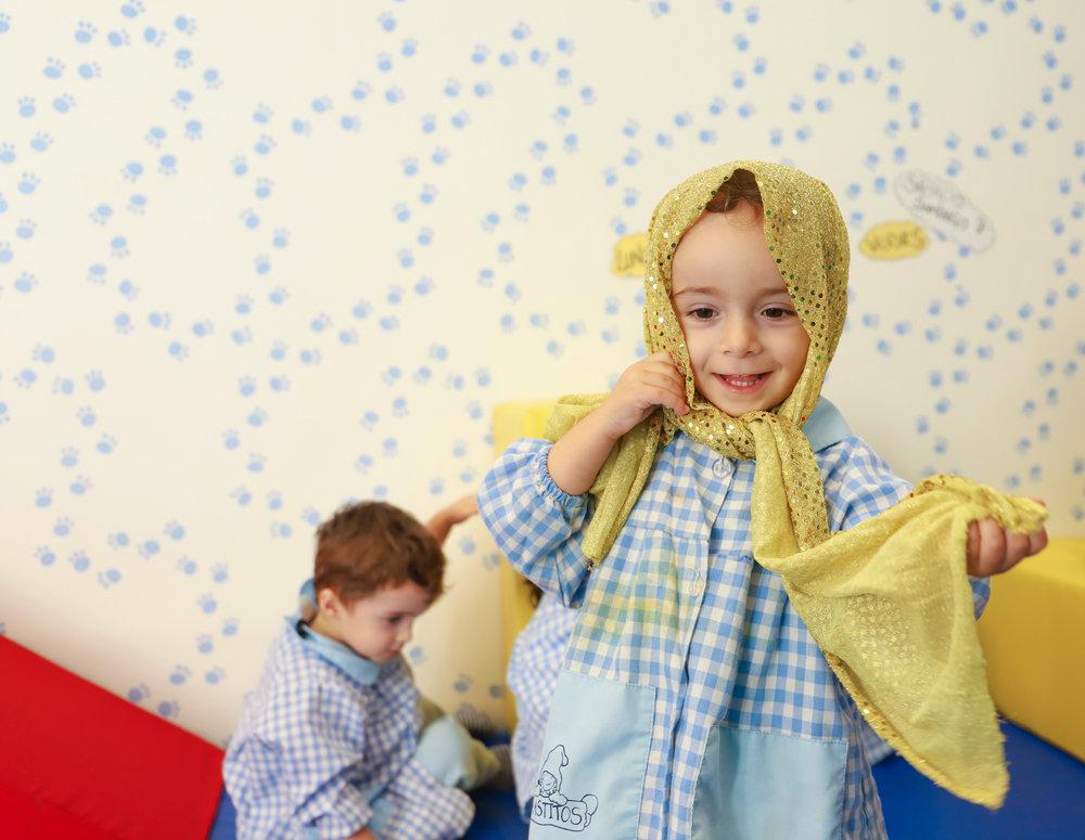 Psicomotricidad infantil en escuela infantil