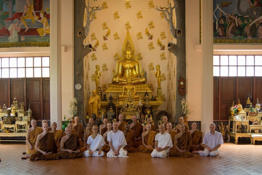 Wat Pah Vivek Dhammachah (Phrakhru Bodhivannanurak)