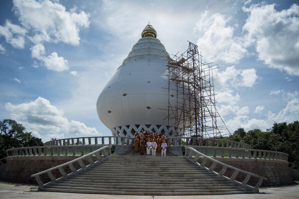 Phra Mongkonkittithada's Memorial Site at Wat Pah Vivek