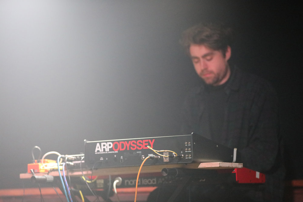 Tom McLuckie synthesiser arpodyssey arp odyssey synth nerd london new music composer pop experimental
