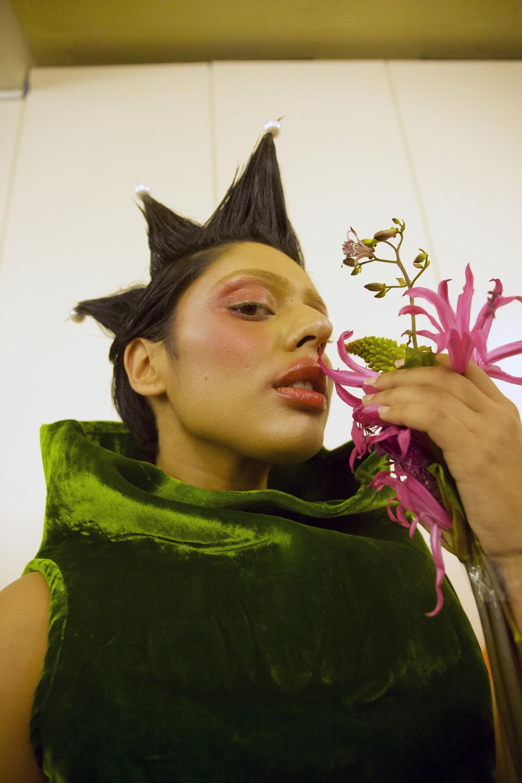 Shiri Shah Jorda Gray London Queer Fashion Show V&A Livia Rita Designer Avantgarde artfashion Liviarita art Fashion new fashion swiss designer London Zurich artist
