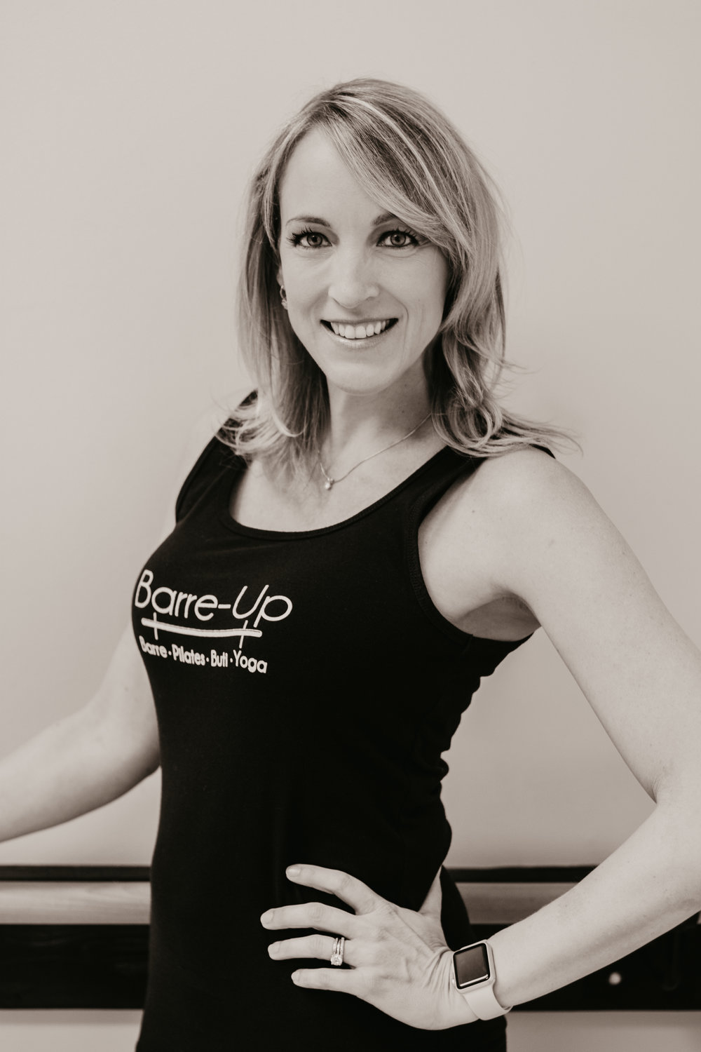 Amanda B. - Amanda began teaching group fitness in 2006, teaching spin, kickboxing, Pilates, yoga and circuit classes. Over the past three years she has been practicing barre as a student and has LOVED the results! She is excited to pass along that enthusiasm for barre as well as bringing in some of her experience from other genres to the studio. Along with her barre certification, she is currently working on her RYT-200 and will graduate in April.Amanda is a native North Carolinian and recently moved back to Raleigh from California with her husband and two kids. Amanda spends her time outside the studio as a stay-at-home mom, but also enjoys ballroom and country western & swing dancing. She holds two world championship titles in country western & swing dancing.