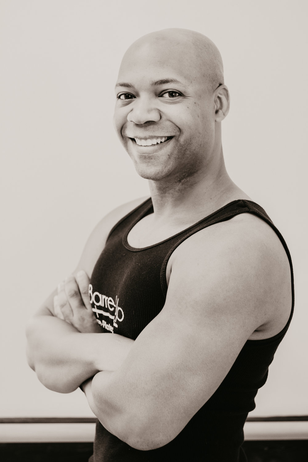 Byron J. - Byron is a native of Gainesville, FL who was raised in Charlotte and is a NC State graduate (Go Wolfpack!!)! He's been a law firm manager for 13 years and also does acting and modeling. Fitness and dancing have always been important to him, so 4 years ago, he decided to leap into Fitness instructing and has never looked back! Byron's excited to join the Barre Up family and to be able to