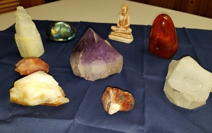 Reiki Teacher Stephanie Flores Shares Her Crystals