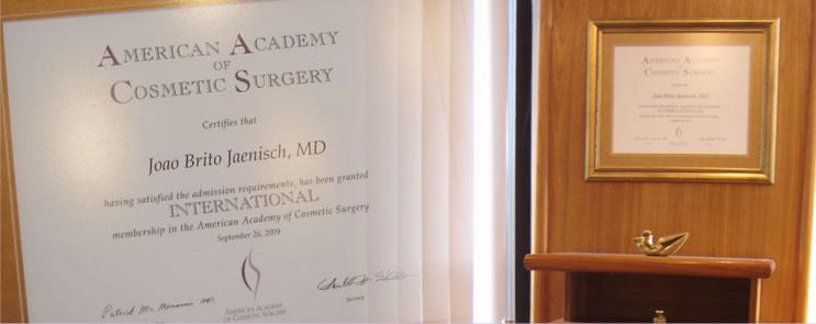 Certificado Dr. João Brito Jaenisch