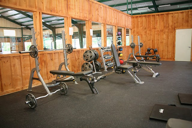 Our fitness center is always open, great for an early morning workout!