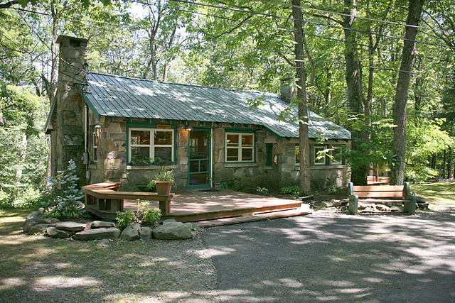 Stone House Retreat is the perfect spot to play a game, read a book or take a nap. It's one of the best-kept secrets in camp!