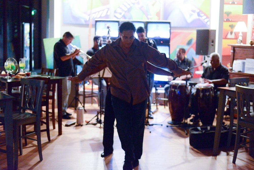 Joel Rodriguez Salsa Dance Instructor Indigo Blu Gallery
