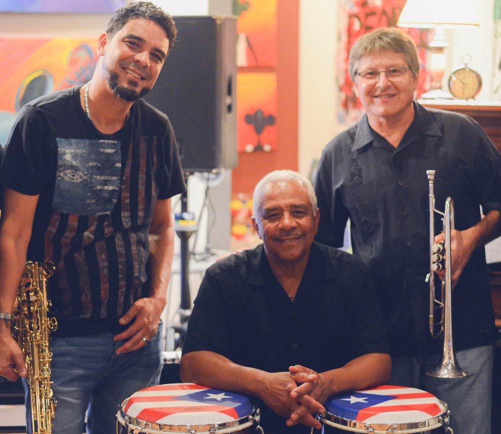 David, Juan, and Willie Indigo Blu Gallery