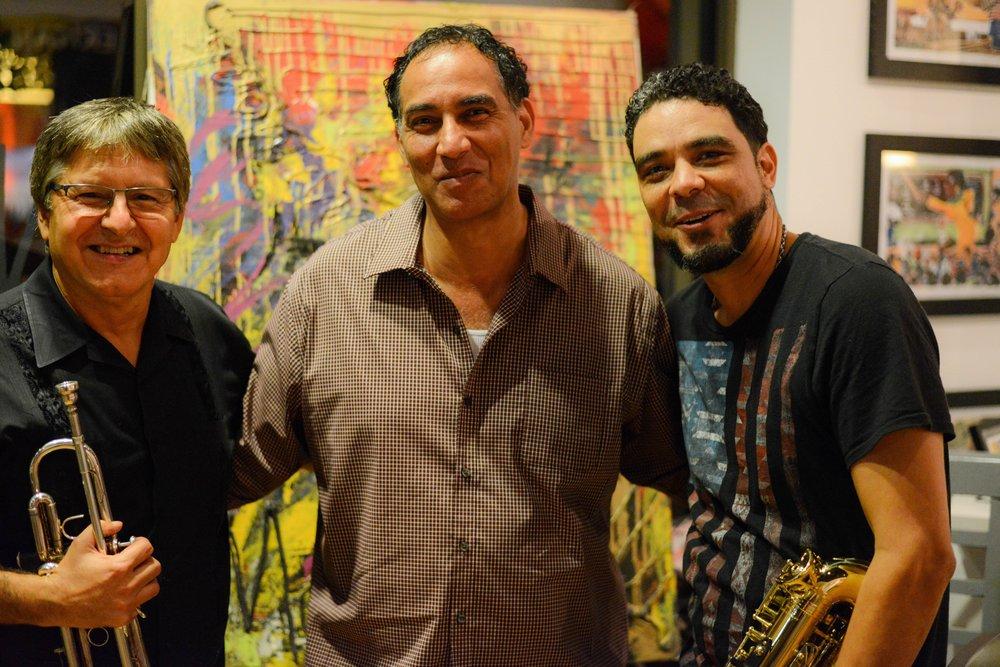 Willie, Joel, and David, Indigo Blu Gallery