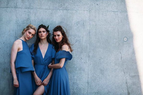 Re-Written Bridesmaids - Simple. Elegant. Damn Cool Bridesmaids.