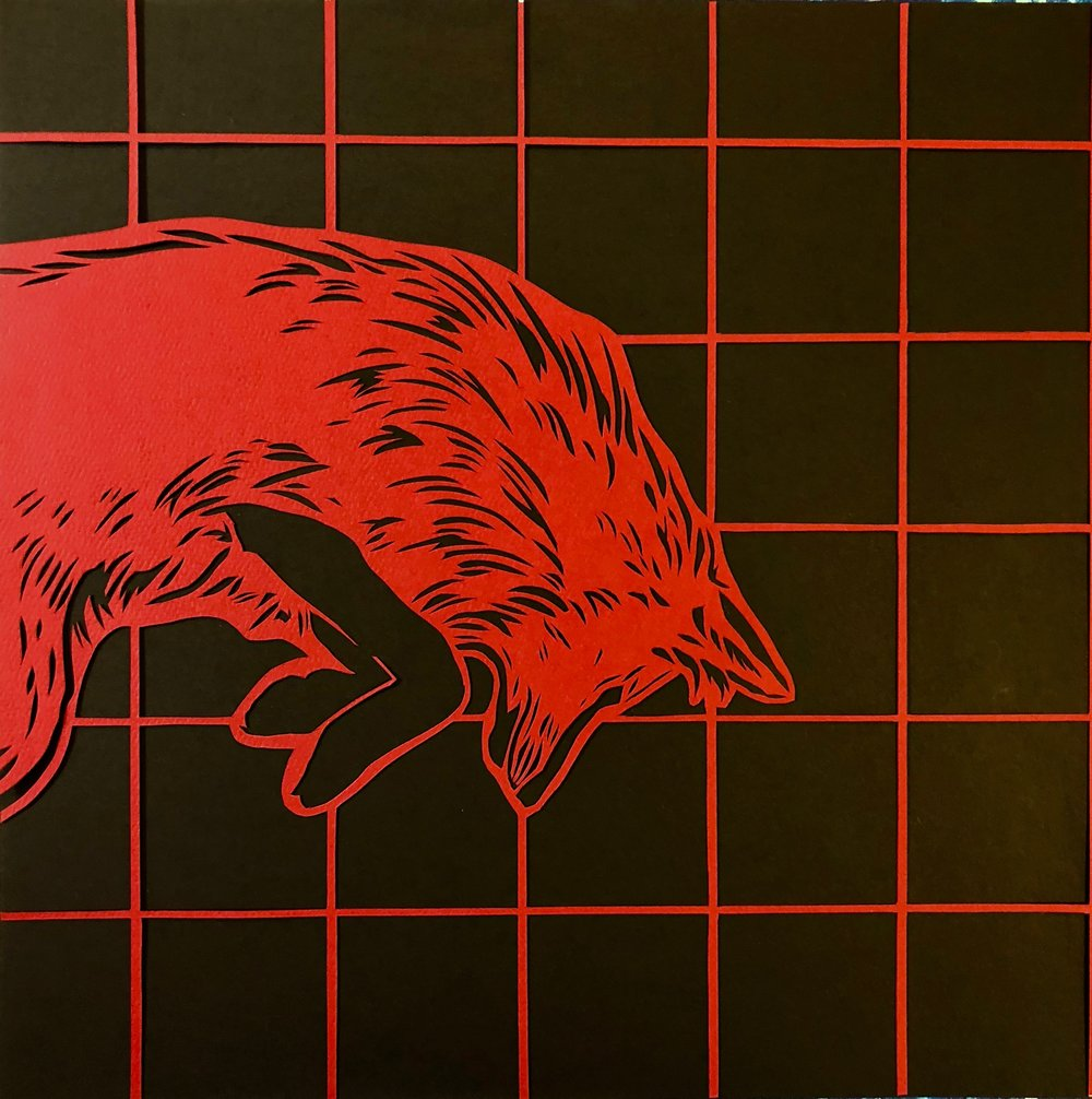 Study of a Fox in red