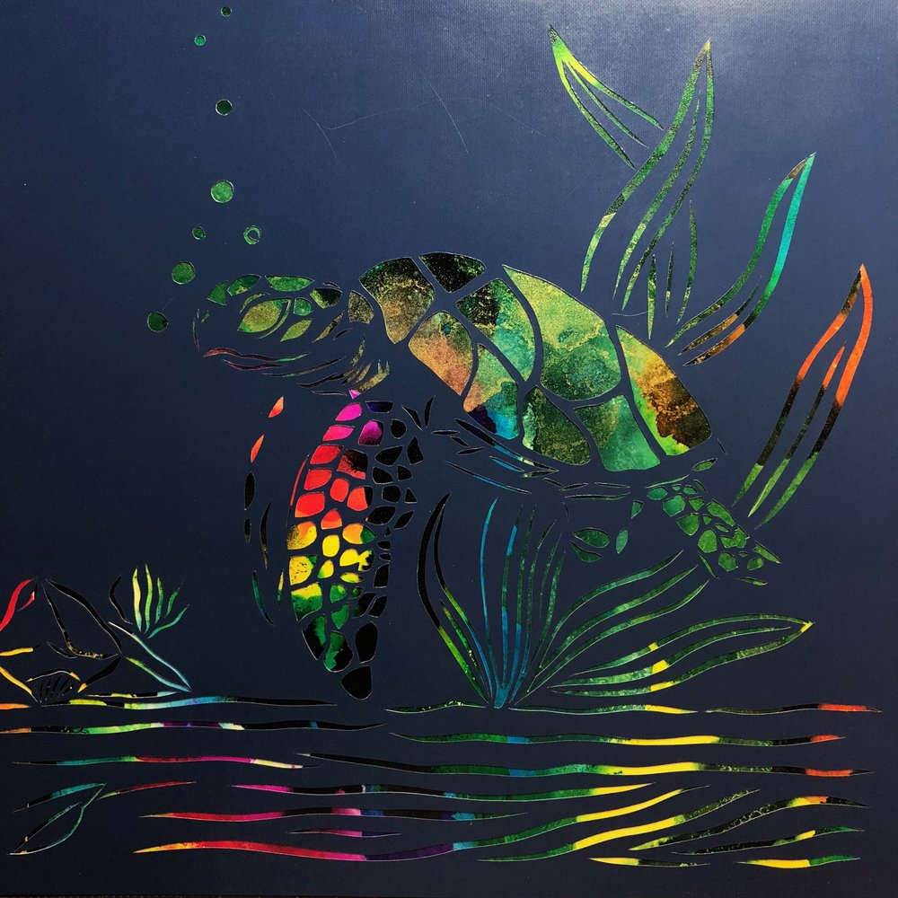 Galactic Sea Turtle