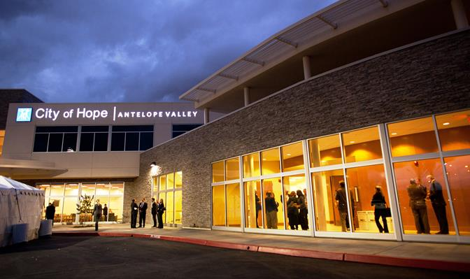 Antelope Valley Cancer Center, City of Hope