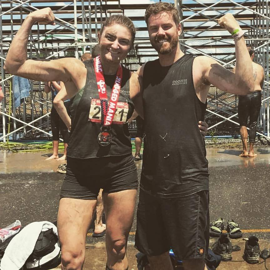 """Being active leads to fun experiences like obstacle course races with friends and loved ones! I love to challenge myself with new and fun activities like the """"Rugged Maniac"""" and """"Warrior Dash"""" races."""