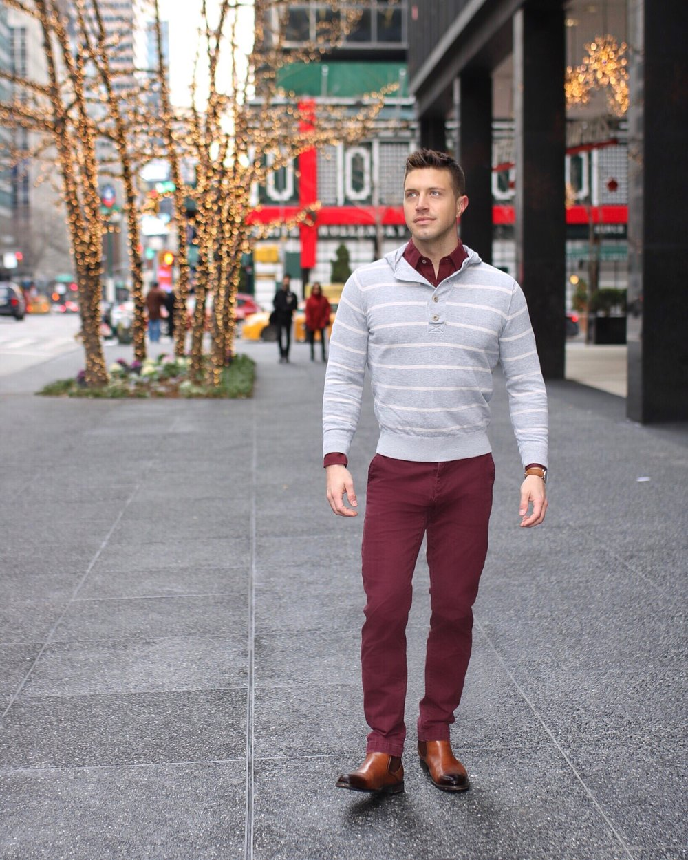 Winter Trend Burgundy Tommy Didario