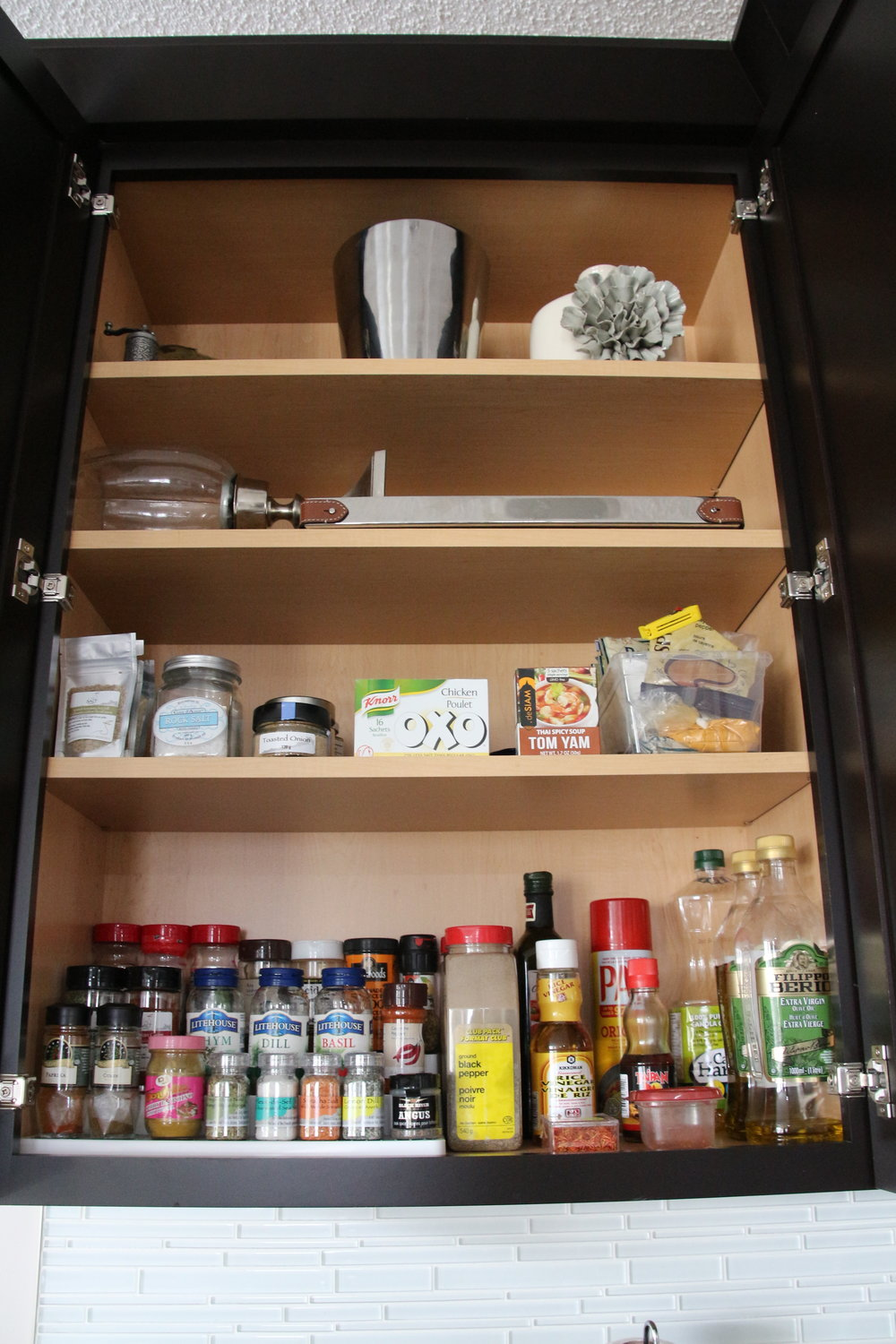 After-Under utilized kitchen cupboard