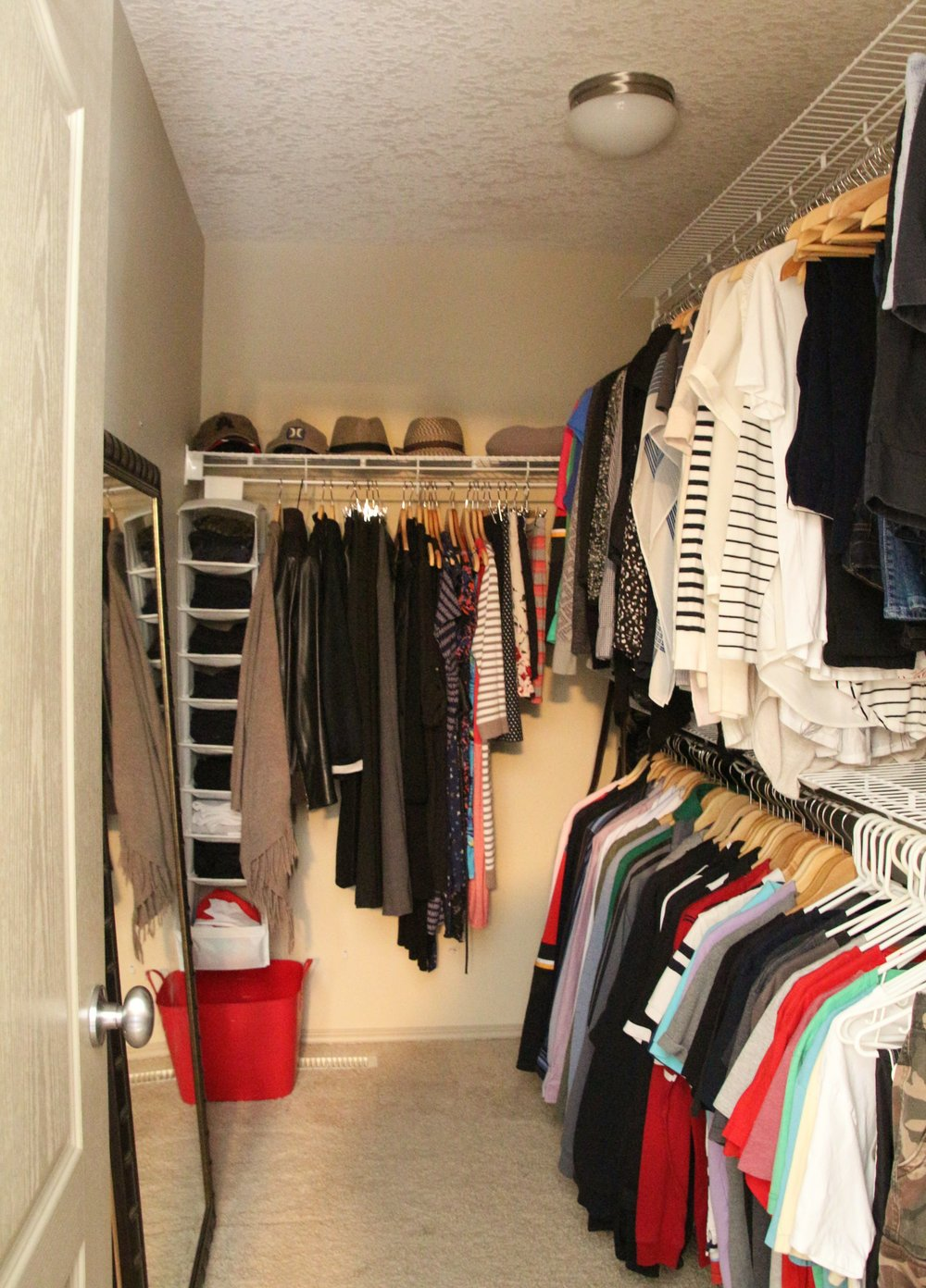 After-Master closet