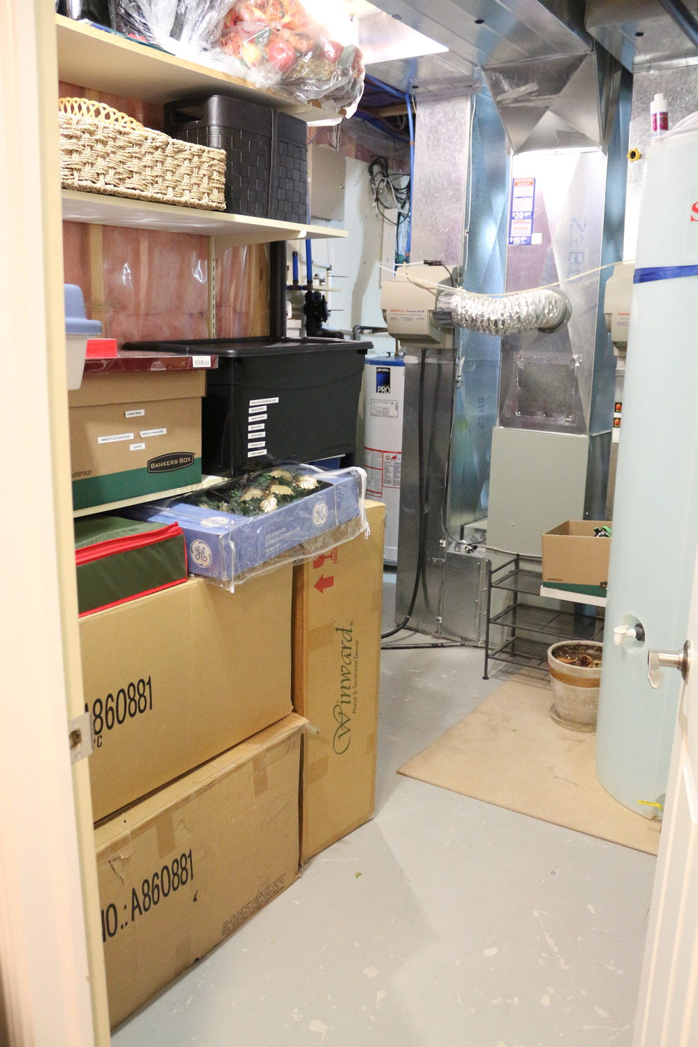 After-Storage room