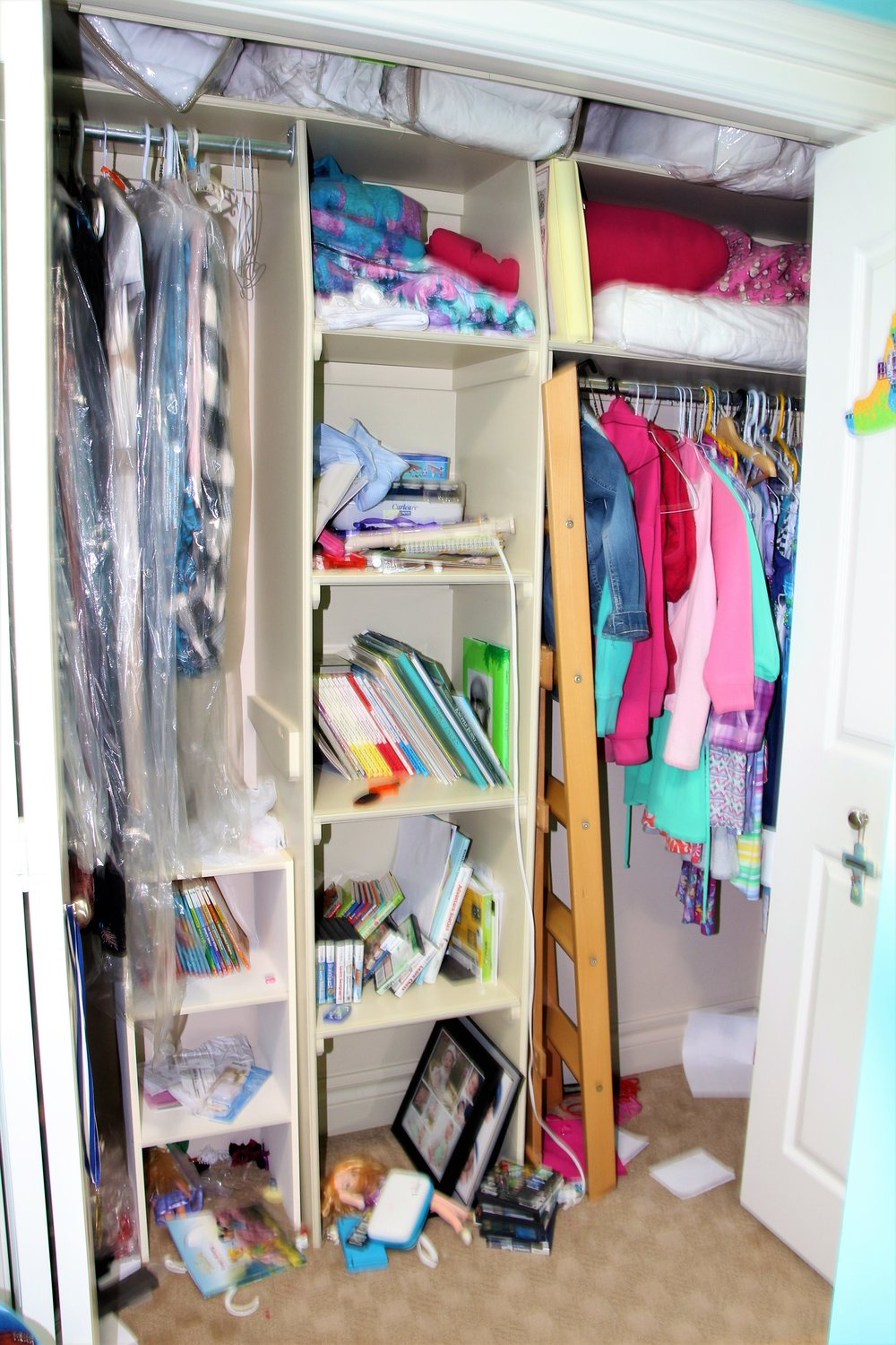 Before-Child's closet