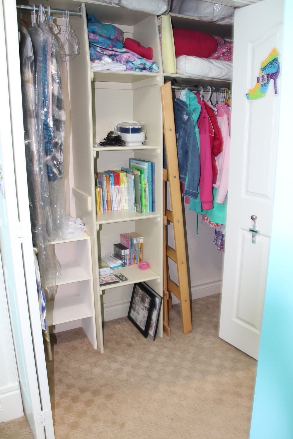 After-Child's closet