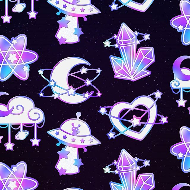 🌟 Which Starlume pin is your fav~?🌟 Made a cute little pattern from my Starlume pin mockups :D ✨ I really need to learn how to make these tile-able tho..! Starlume update: we're £250 away from unlocking the big Star pin!! 🌟 It's slowed down a little now so I'd really appreciate shares and stuff! 🙏💕💘❤️💝💗💓 x #flairgame#pastelaesthetic#enamelpin#pincommunity#pincollection#pinlife#patch#lapelpins#design#pinlord#badge#pin#flair#hatpin#fashion#etsy#pingameproper#dreamart#pinaddict#illustration#lapelpin#enamelpins#pins#rainbow#pincollector#hatpins#pinpost#pingame#pinoftheday#art