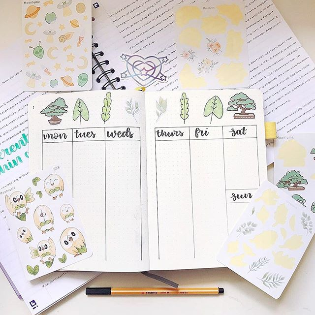 🌸🌟🌸🌟🌸 Stickers: @moonlume ;; Photo + journal: @bujowithbeth ;; Thinking about drawing new Rowlet stickers before comic con... these are quite old, I'm slowly getting bothered by my old work and I feel like doing a revamp a g a i n 🙈 Pls stop meeee, I'm never satisfied ~ 🙏✨ + #planner #bujo #bulletjournal #study #studying #studygram #plannergram #bujogram #stickers #stationery #stationary #stationerylove #stationeryaddict #stationerylover #stationerysupplies #stationeryshop #plannercommunity #plannerspread #study #studying #studygram