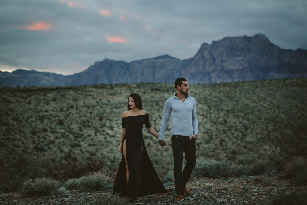 Laine + Daniel - Red Rock Canyon Las Vegas