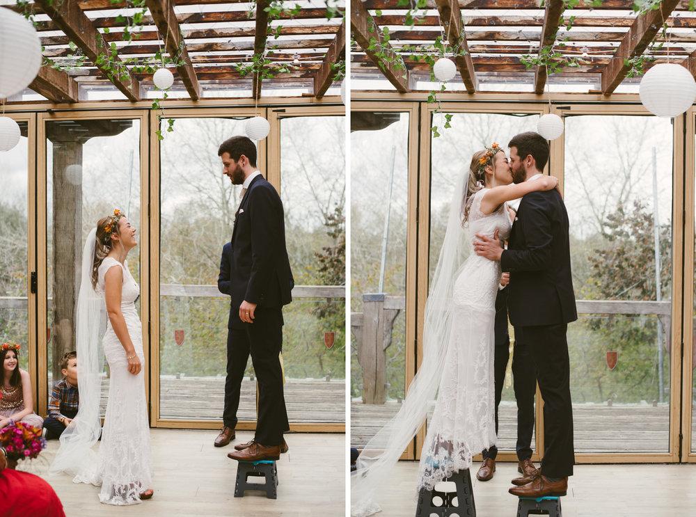 2_Lisa & Christy Abbey House Gardens Wiltshire Documentary Wedding Photographer-304.jpg
