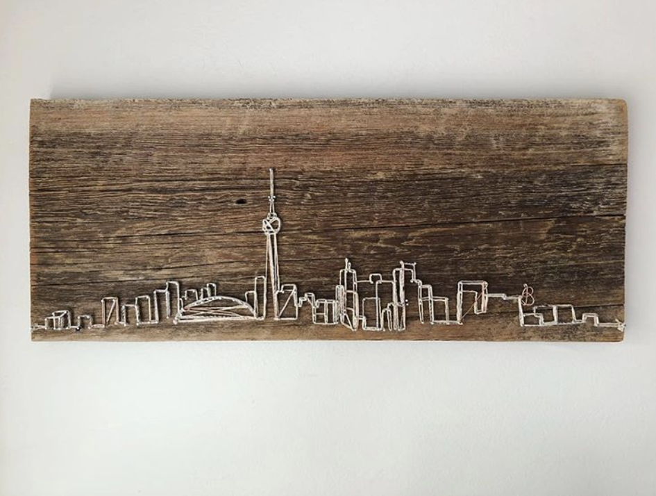 6ix Cityscapes-a-hanging -