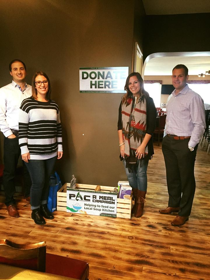 "Strive Young Professional Group Participating In ""PAC A Meal"" Campaign"