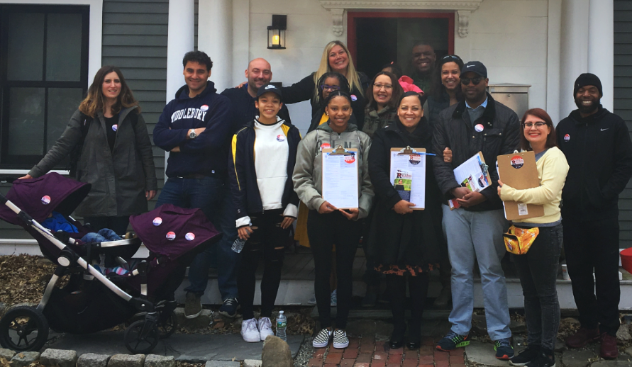 #RollingwithRollins Day of Action in Roxbury, JP, Chelsea, and Dorchester