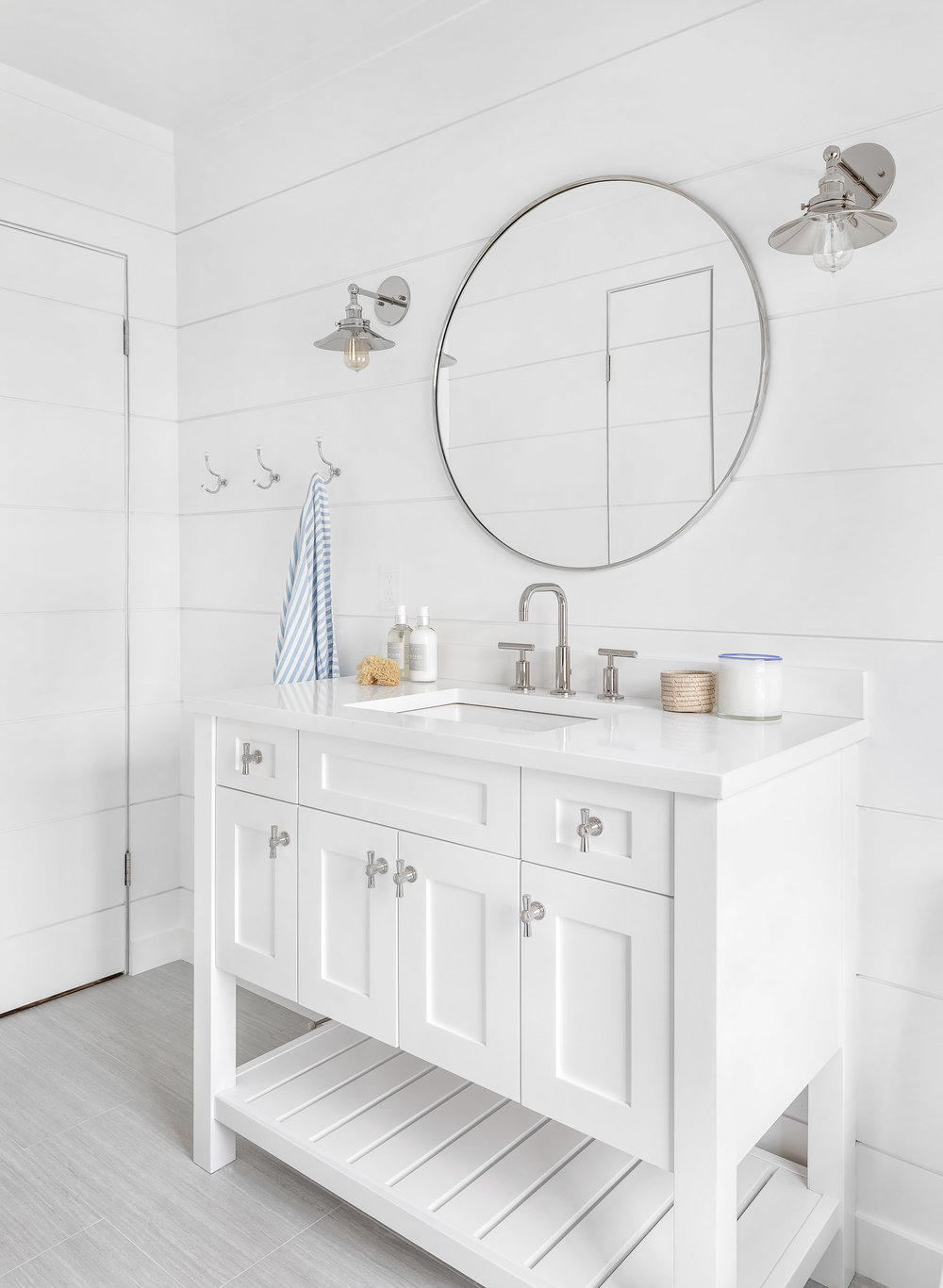 parker and parker design-interior design photography-darien ct-white bathroom-shiplap walls and vanity.jpg