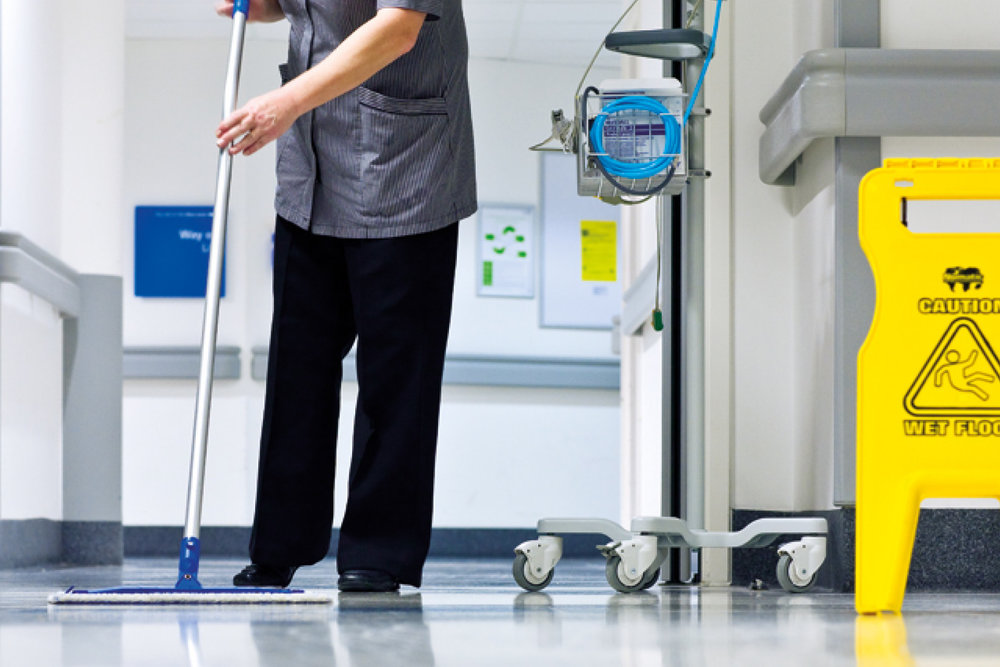 Janitorial - Our product selection covers all the necessities, from mop buckets to first aid kits.
