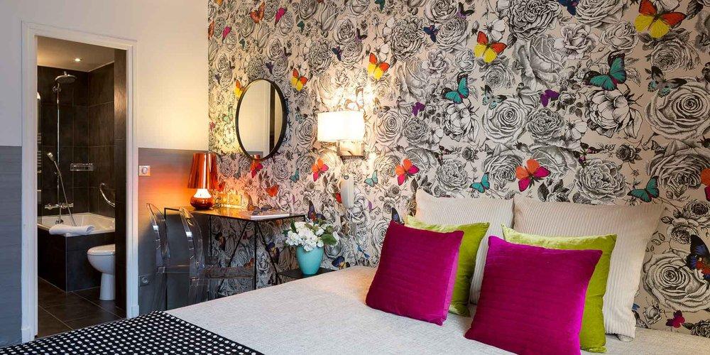 Foto do site do hotel Victoria Chatelet