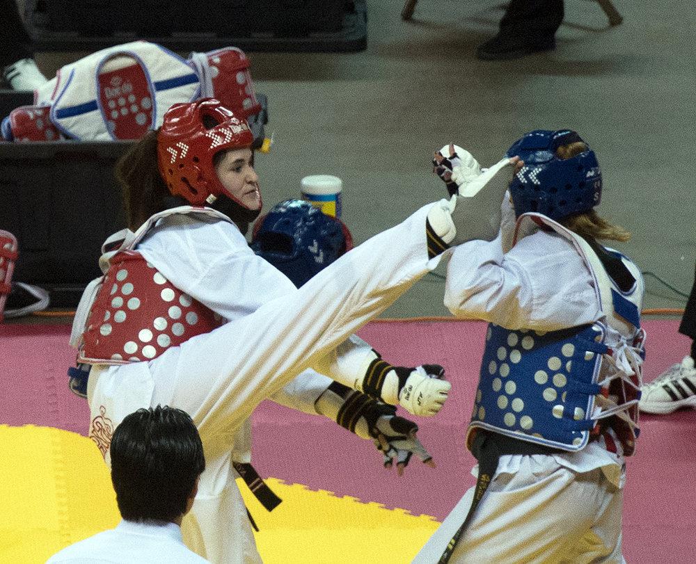 Allie Taekwondo finals.jpg