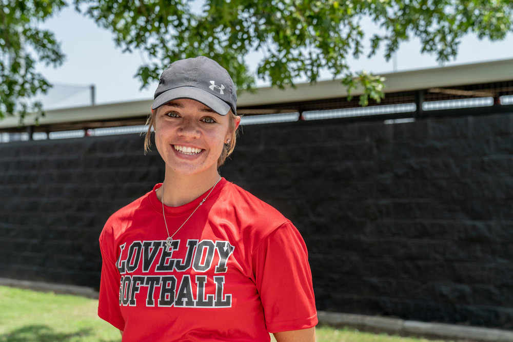 First year Head Coach of the Lady Leopards Brittany Lee