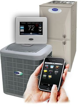 Lovejoy HVAC installs the most efficient systems along with multiple versions of smart thermostats.