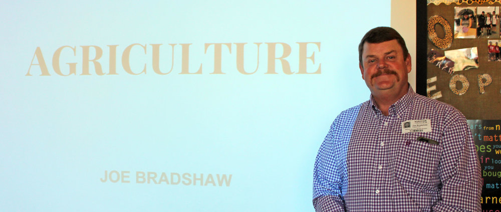 Joe Bradshaw is the owner of Bradshaw Farms located in Pittsburg, Texas.