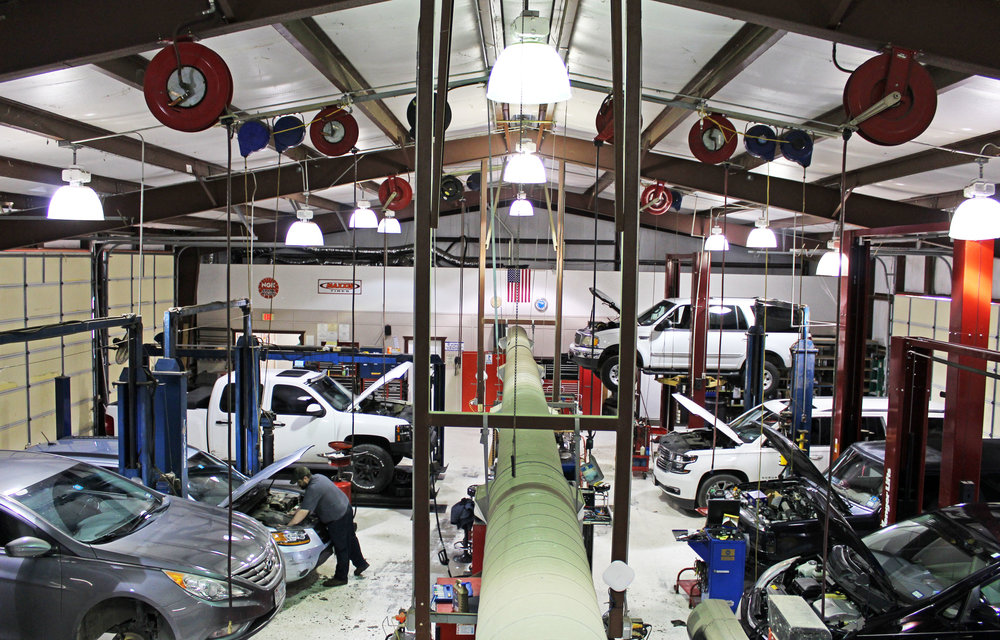 Craig's Car Care is located at 1005 W. Lucas Rd. in Lucas.