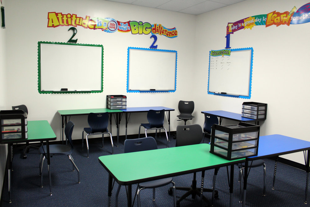 The Tutoring Center offers one-to-one instruction.