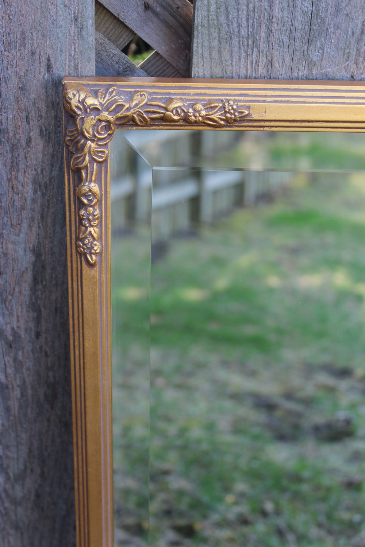 Gold Mirror 1 - Close Up