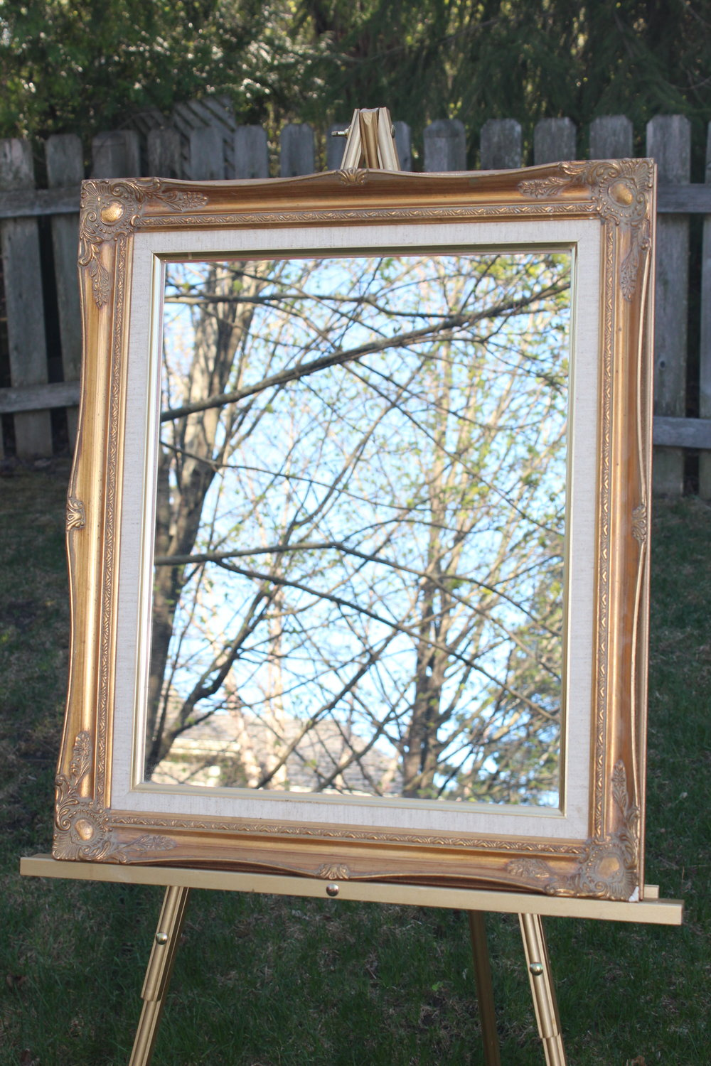 Gold Mirror 2 -1.5ft W x 2ft H