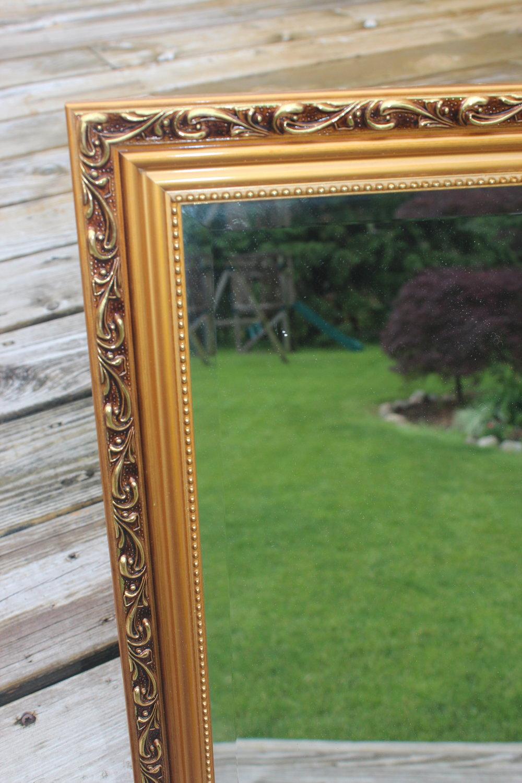 Gold Mirror 5 - Close Up