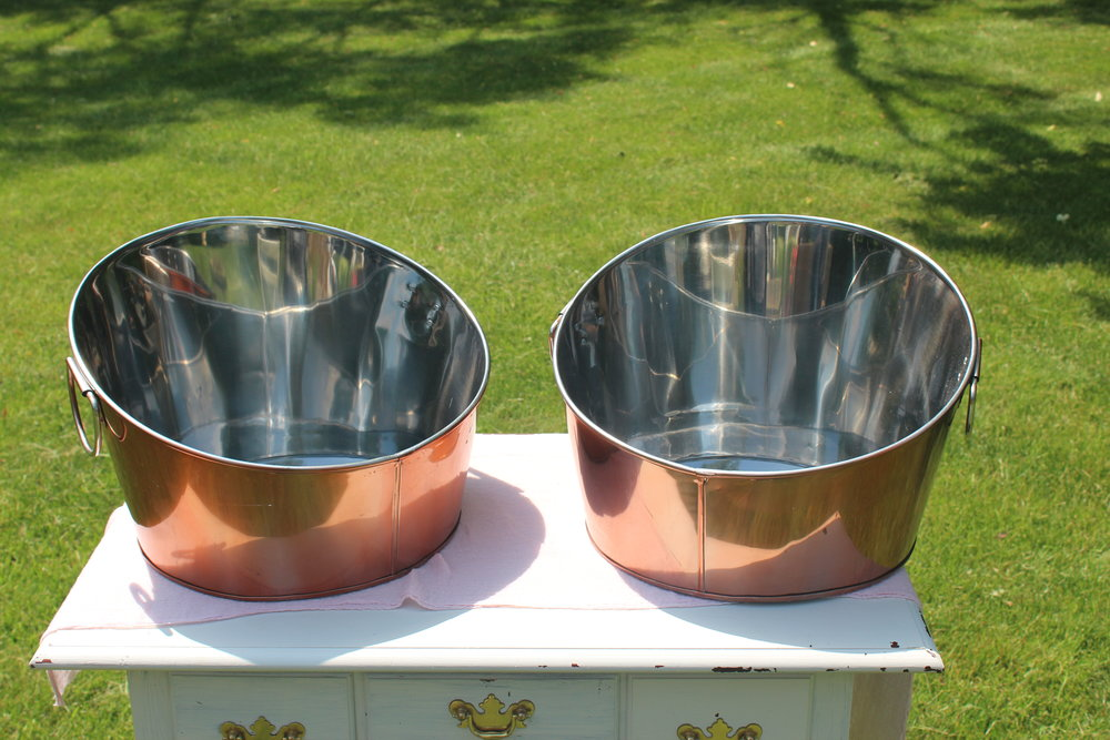 Copper Tubs