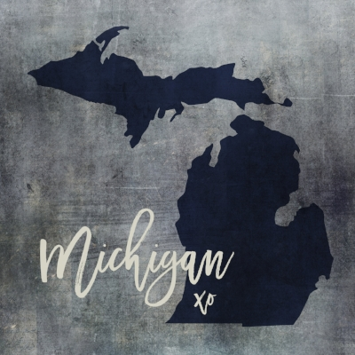 Exclusive Michigan Art Collection by Brandi Fitzgerald Fusion Arts - Available ONLY at Urban Nest.
