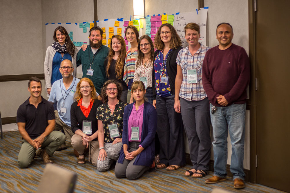 Toronto, Canada - NaturePlan's Andrew Bridges and fellow coach Jim Goetz led a two-day Open Standards training workshop at the North American Congress for Conservation Biology, July 21-22, 2018 in Toronto, Canada.