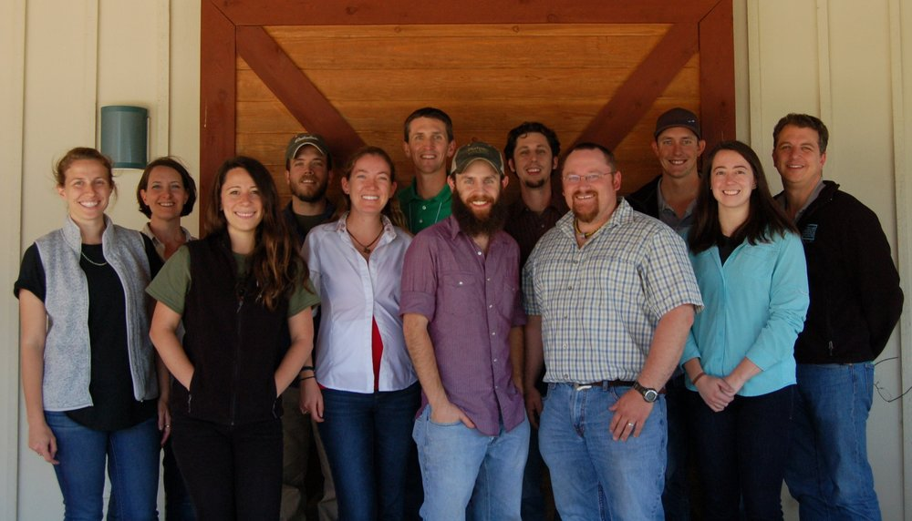 Conservation Leadership Institute, Texas - A 4-day workshop for the James G. Teer Conservation Leadership Institute was held May 3-6, 2018 at the Kerr Wildlife Management Area, Texas, and included 11 young professionals identified as future leaders in wildlife conservation and management.